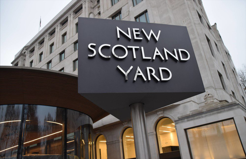 New Scotland Yard, London's Police Headquarters, repond to London Bridge attack