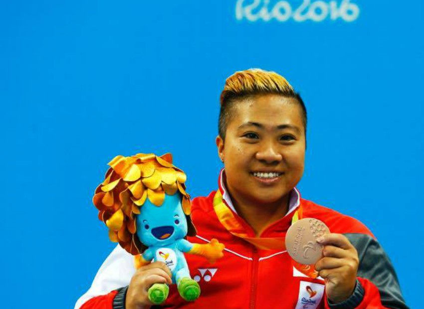 Theresa Goh, Paralympic swimmer