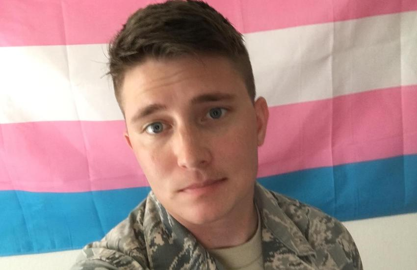Trans Soldier Sterling James Crutcher's post has gone viral and has now spoke to Gay Star News for veterans day