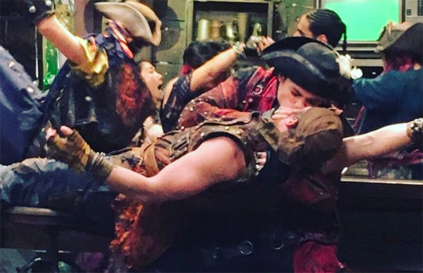 Descendants 2 initially included a gay kiss