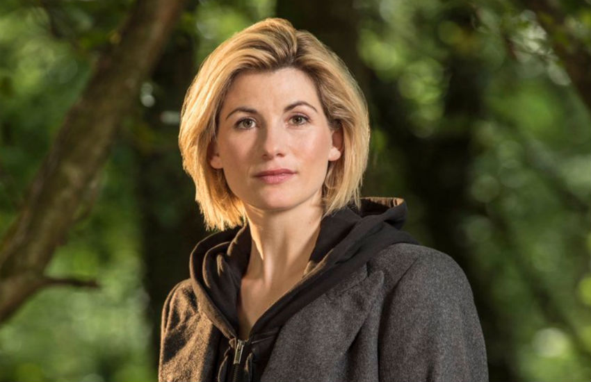 Jodie Whittaker as the Doctor in new series of Doctor Who.