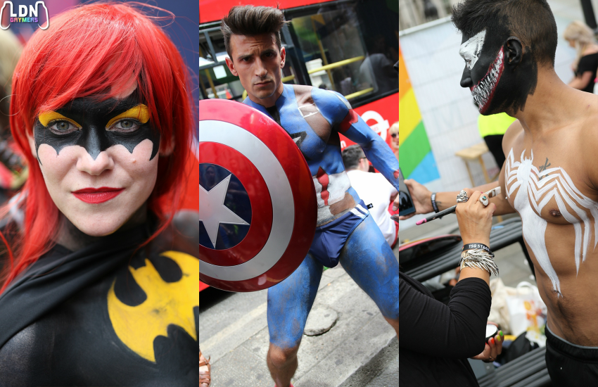 The LDN Gaymers get into cosplay for Pride in London