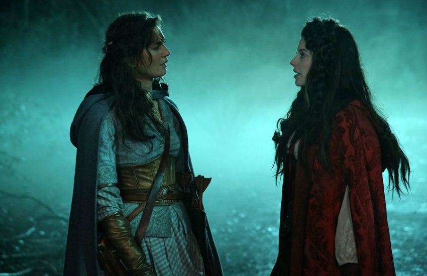 Dorothy and Ruby in ABC's Once Upon a Time.