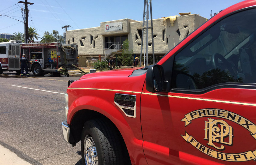 One-n-Ten, a Phoenix LGBTI youth center, aided by fire department following fire