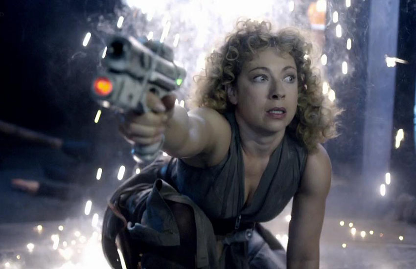 Alex Kingston stars as River Song in Doctor Who