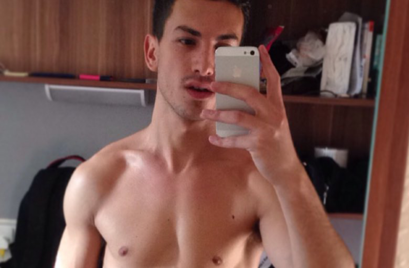Gay teacher has message about being a vegan for PETAs hottest vegans competition