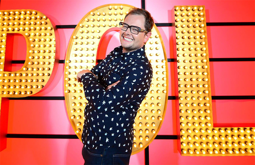 Alan Carr is known for his camp humor