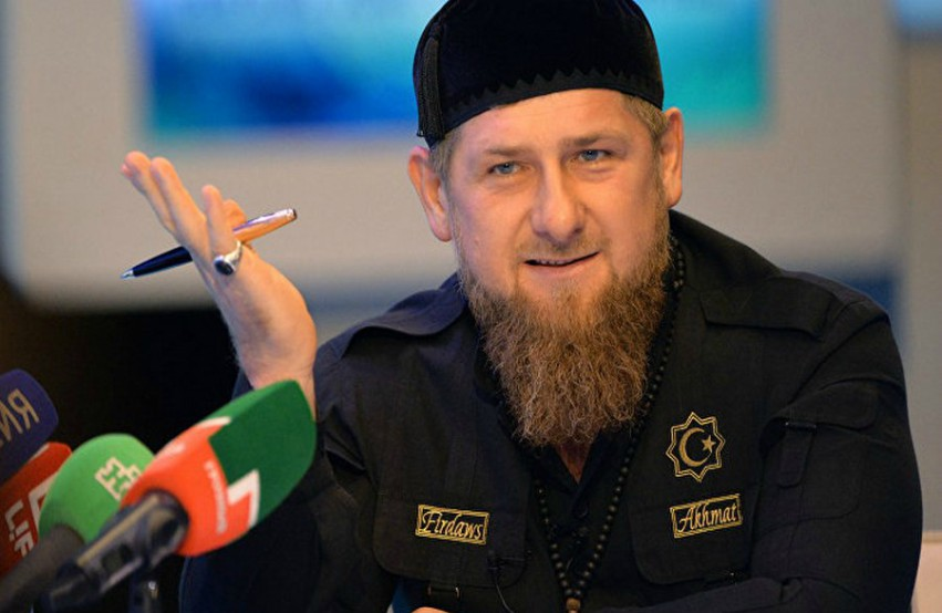 Chechen President Ramzan Kadyrov. Photo: Chechnya Today devils