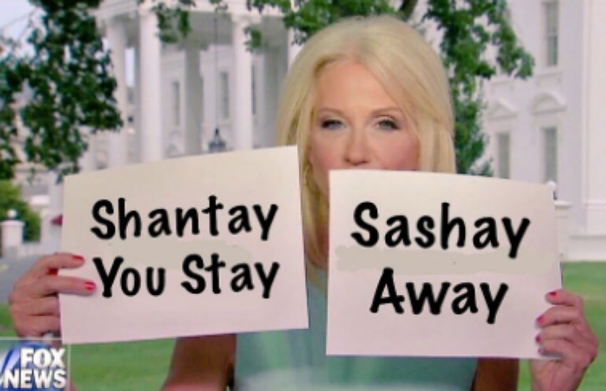 Kellyanne will not be invited to appear on RuPauls Drag Race