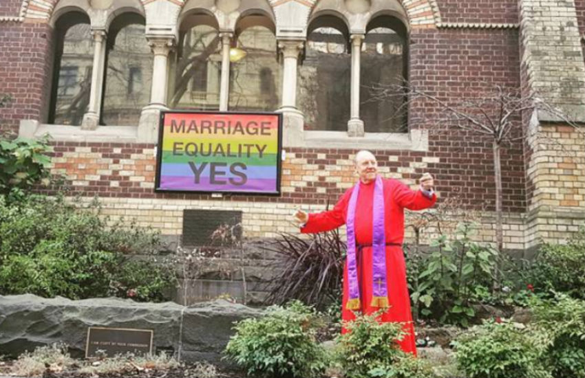 Christians support marriage equality