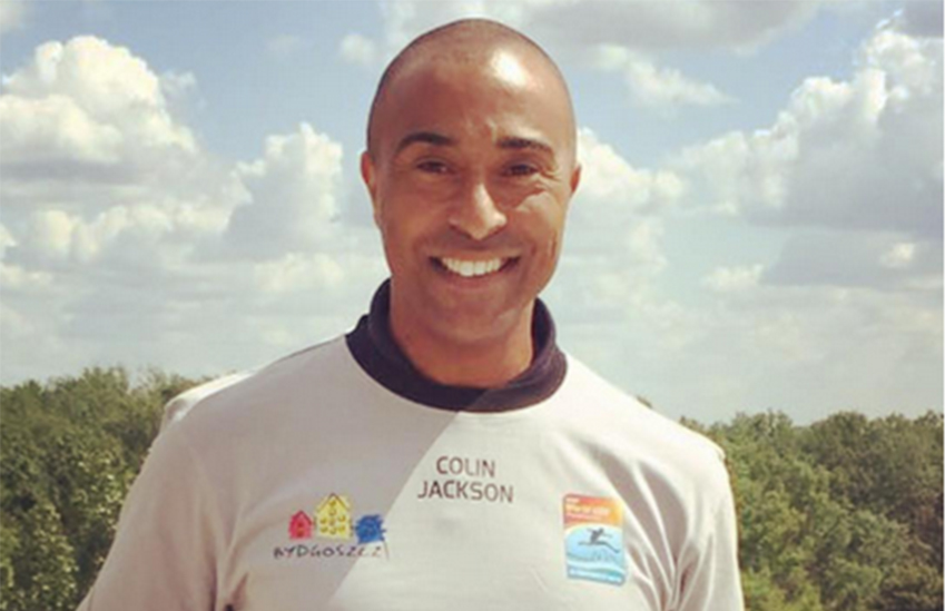 Colin Jackson is out at 50 years old