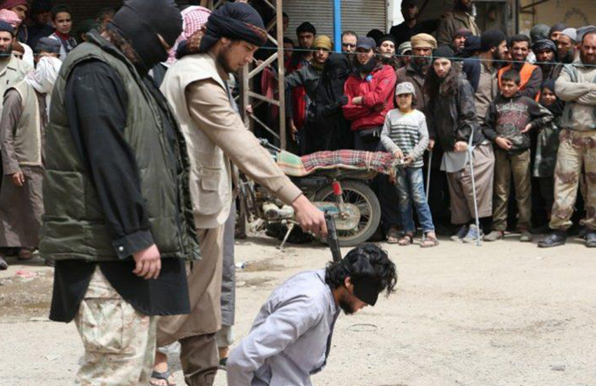 ISIS are murdering gay men and 'non-believers'