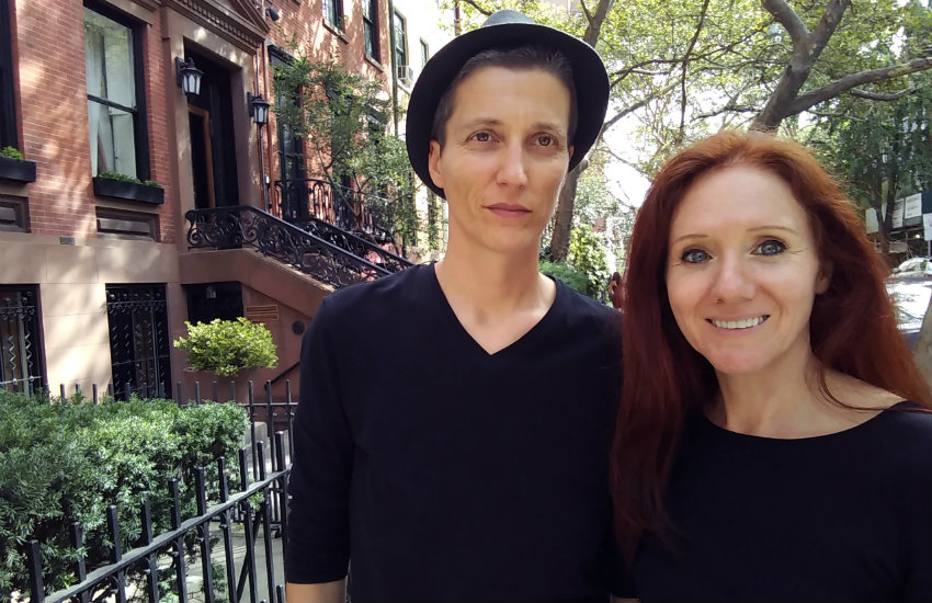Julian P. Boom and Fleur Pierets in New York