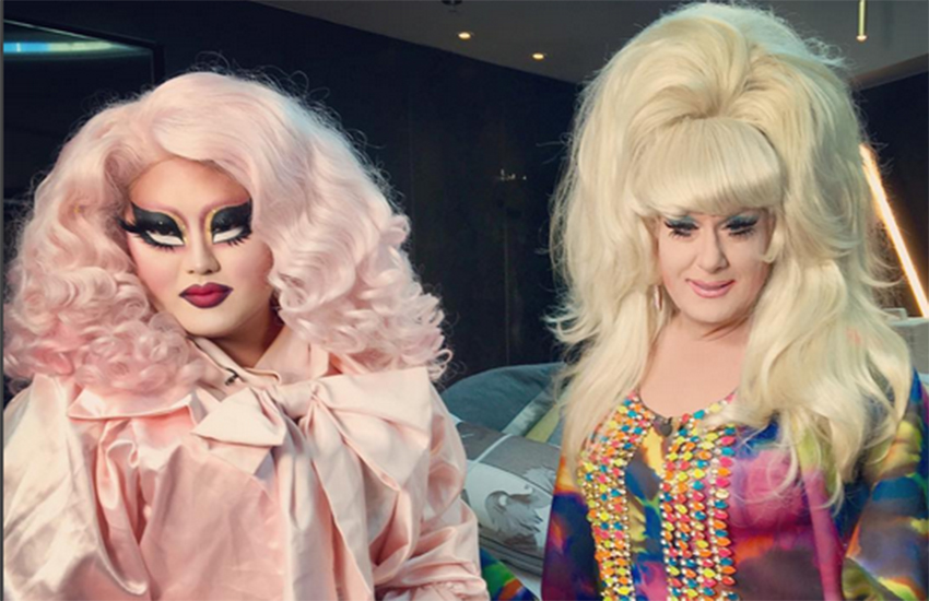 Kim Chi and Lady Bunny talk about the herstory of drag