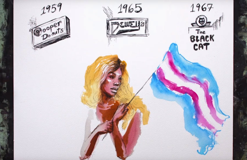 Laverne Cox narrates animated video of trans history