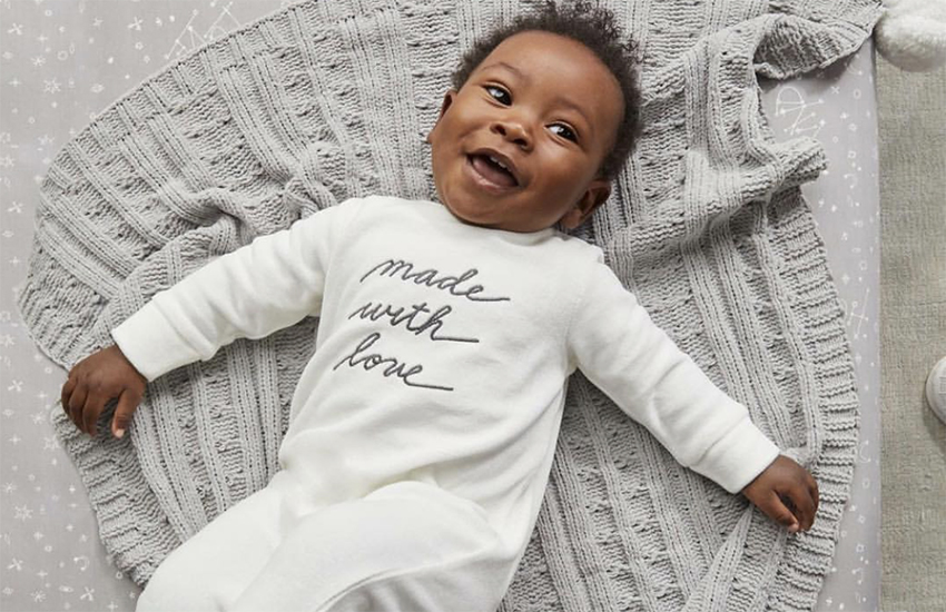 Clothing from the new ED by Ellen baby collection