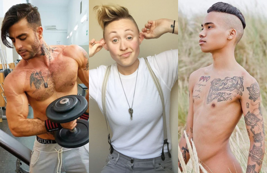 These LGBTI people don't have Tatouazophobia, the fear of getting a tattoo