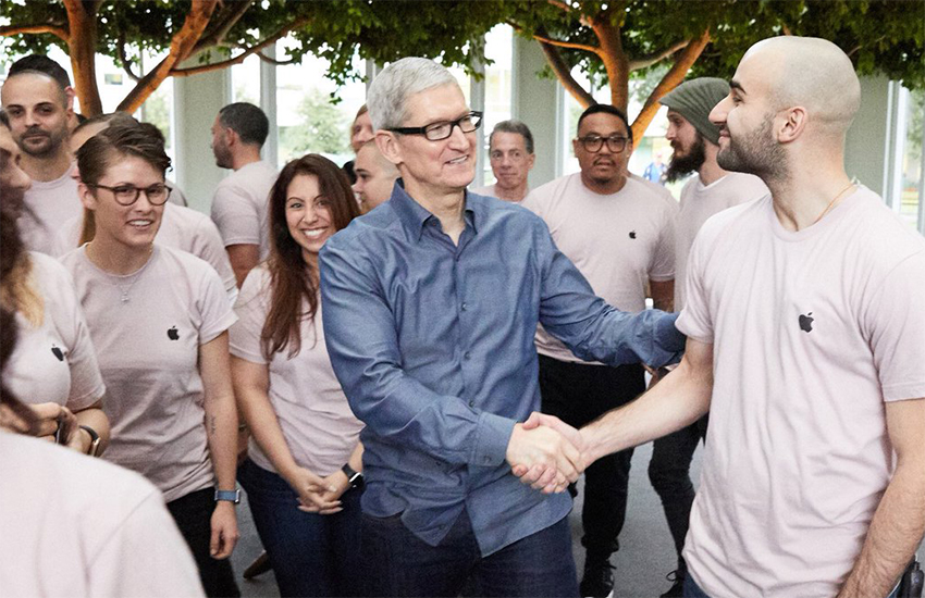 Tim Cook has written to all Apple employees