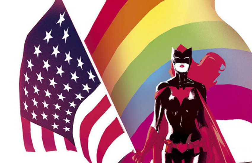 Batwoman in a special Love is Love issue to honor Pulse victims