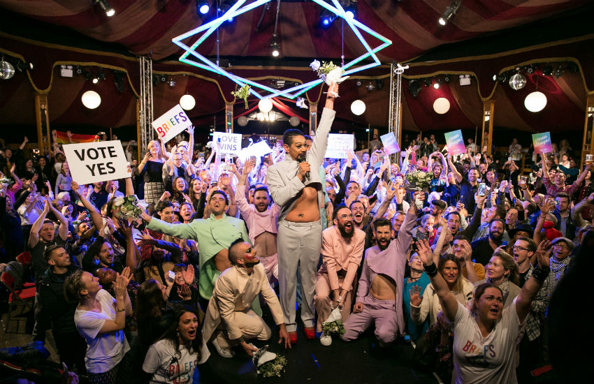 London hosts rally for Australian marriage equality