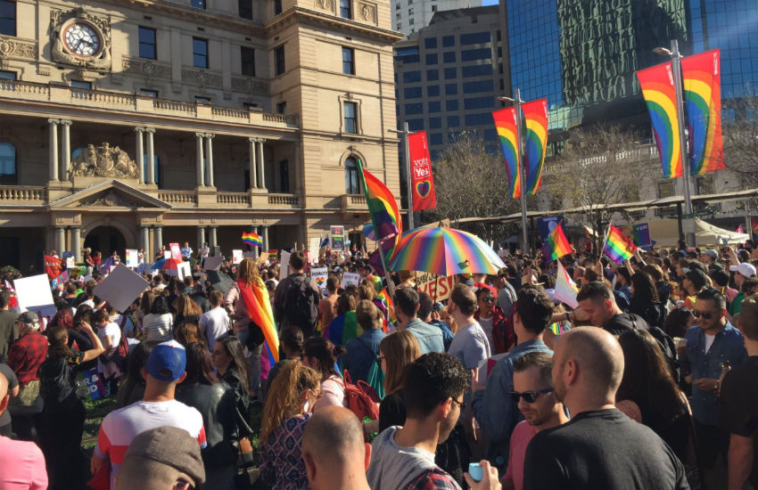 marriage equality results party australia