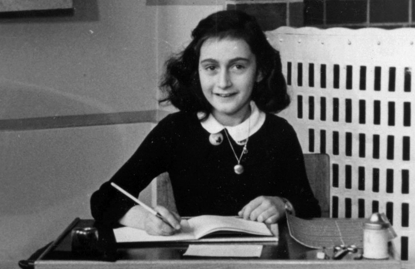 Anne Frank's diary was published first in 1947