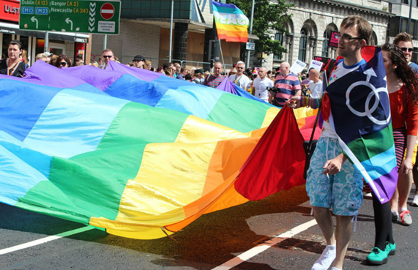 Belfast Pride takes place every year in early August