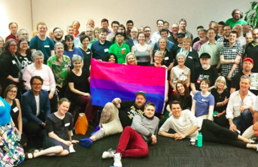 The bi community are louder and prouder today than ever