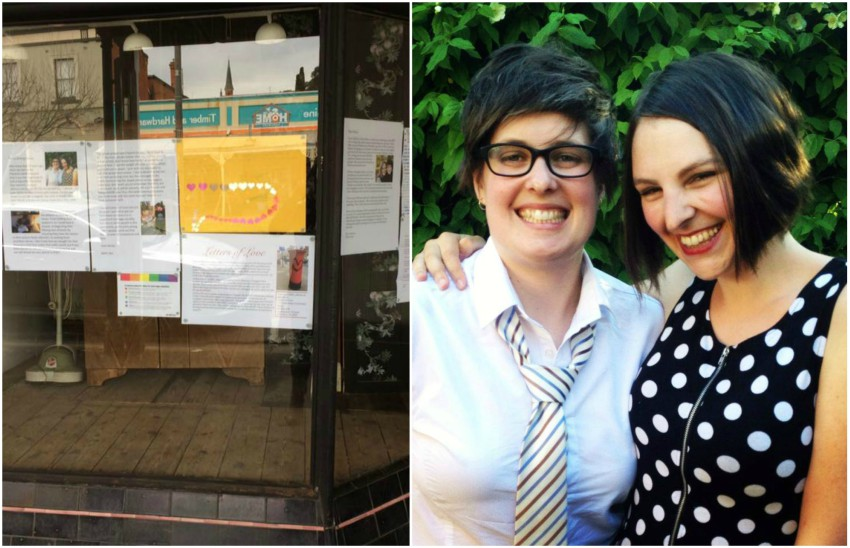 castlemaine lgbti letters of love postal survey marriage equality