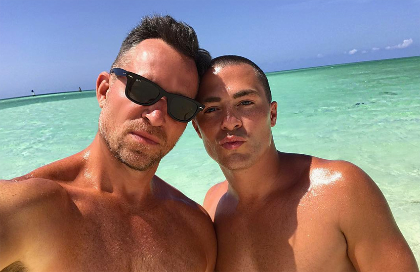 Jeff and Colton