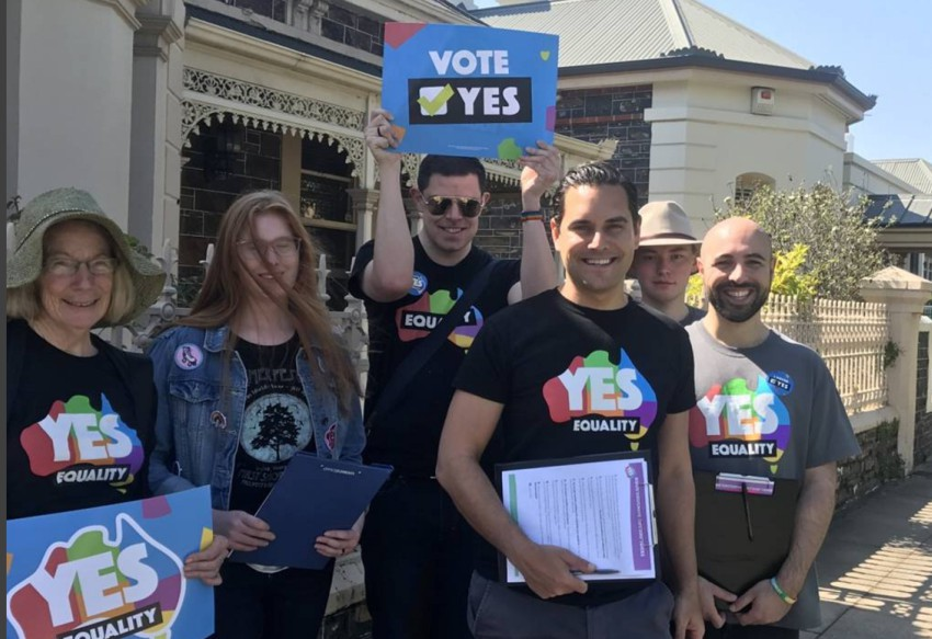 equality marriage yes campaign postal survey