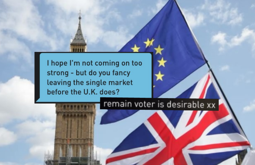 People take to Twitter to share their funny Brexit related Grindr stories