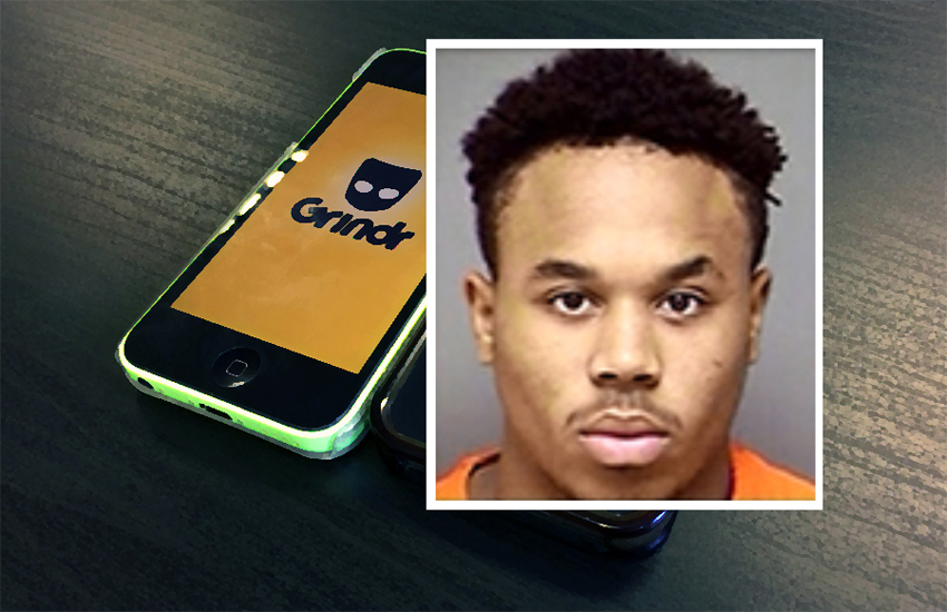 Chancler Encalade was one of a gang who targeted gay men via Grindr