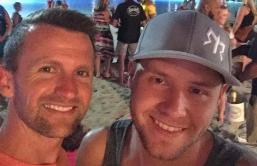 Bobby Eardley (left) and Cameron Robinson (Right) were victims of Las Vegas shooting
