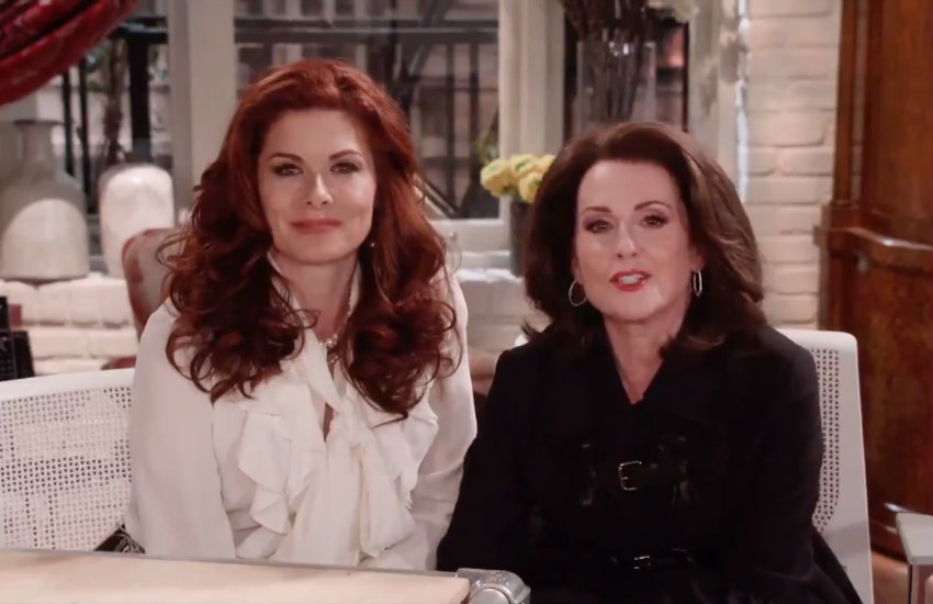 Debra Messing and Megan Mullally take pledge for Spirit Day