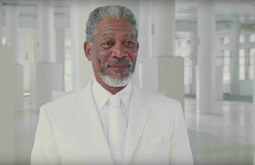 Morgan Freeman played the role of God in the 2003 American comedy movie Bruce Almighty