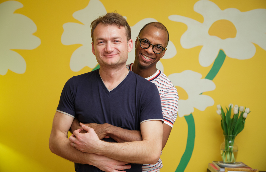 Adrian and Clai want their love to be recognized all over the EU | Photo: ACCEPT Romania
