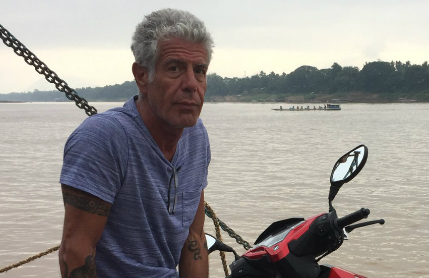Anthony Bourdain is one of the chefs standing up for LGBTI rights