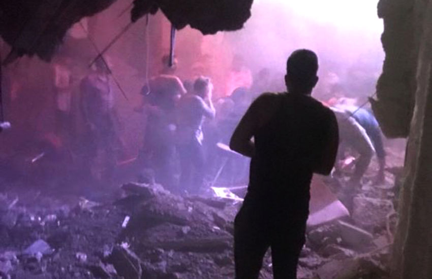 Several injured, two 'seriously' hurt as floor collapses during drag show
