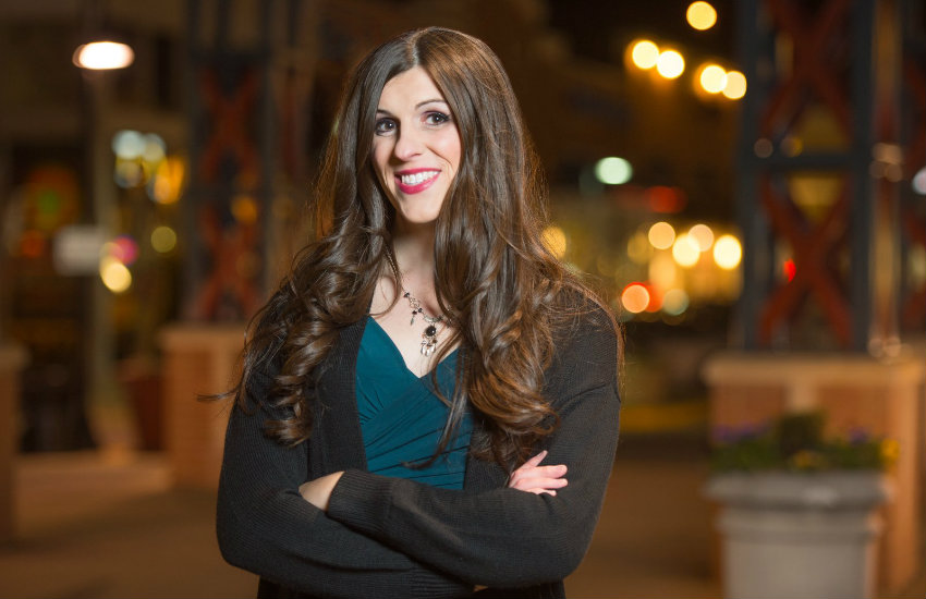 Danica Roem, a transgender candidate in one of the many US elections today