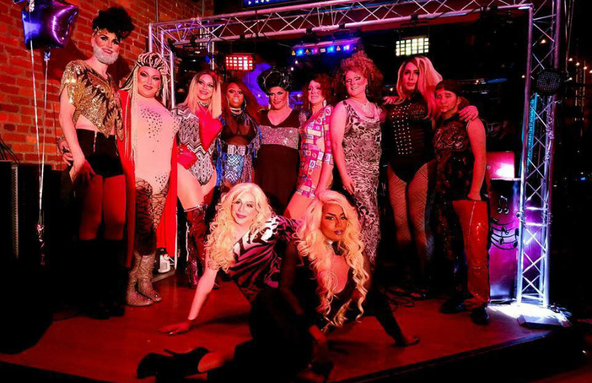 Elite Productions' drag show team in Tennessee