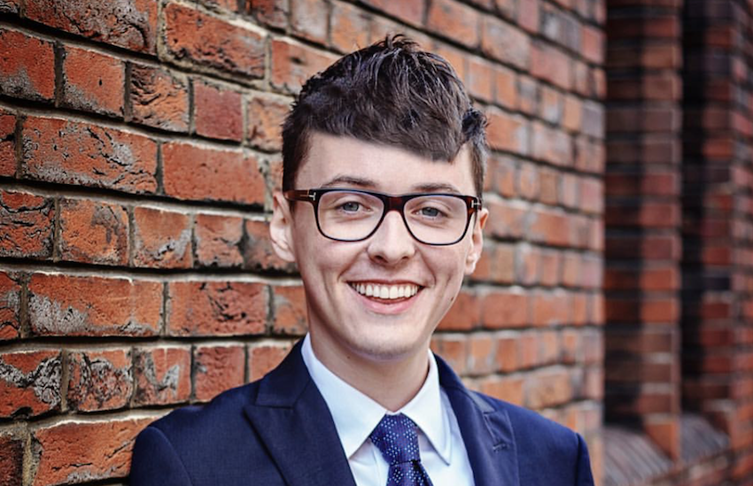 Darren Grimes is the openly gay pro Brexit campaigner that was a student at the time of the campaign
