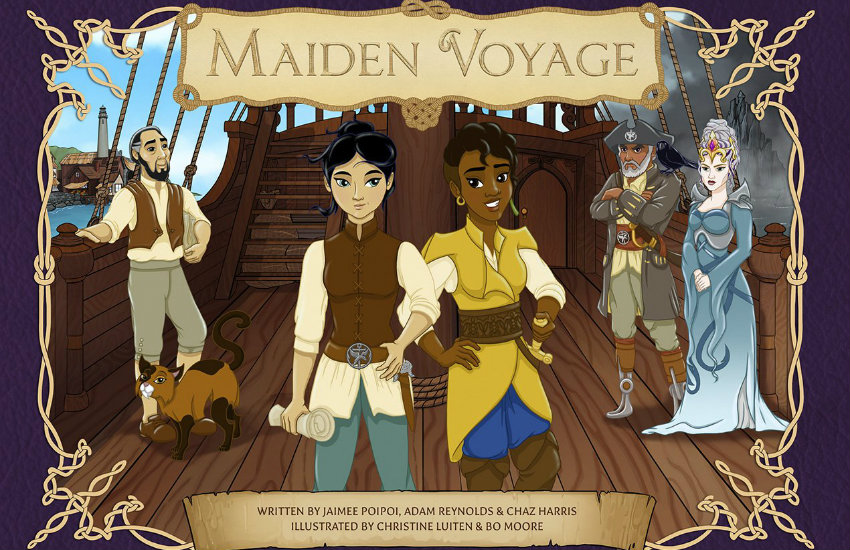 Maiden Voyage, a new children's book about lesbians and pirates