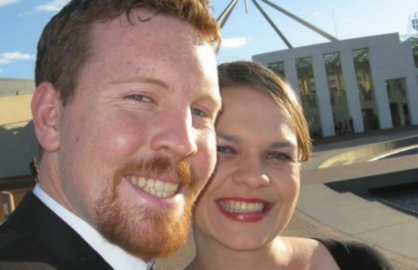 Nick and Sarah Jensen might divorce if same-sex marriage is legal in Australia