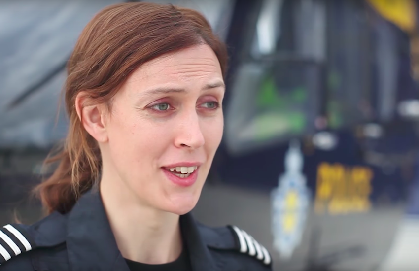 Helicopter pilot Ayla Holdom was the first out trans person in the RAF talks about making your workplace more trans inclusive | Photo: My Genderation