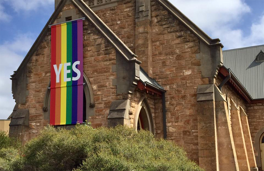 The Church of the Trinity in Adelaide (image: Sue Wickham | Facebook)