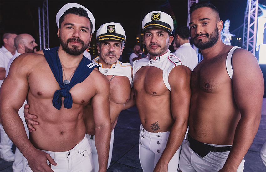 White Party Week in Miami takes place over Thanksgiving (Image by Adi Adinayev) Differio