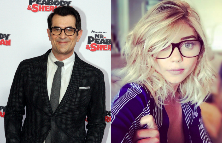 Ty Burrell and Sarah Hyland play a father and daughter in hit series Modern Family