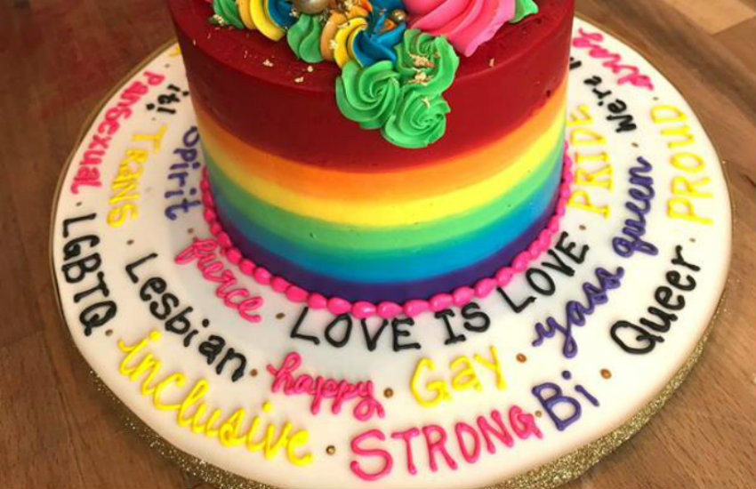 Astounding This Canadian Bakery Made The Gayest Cake Ever For A Customer Funny Birthday Cards Online Overcheapnameinfo