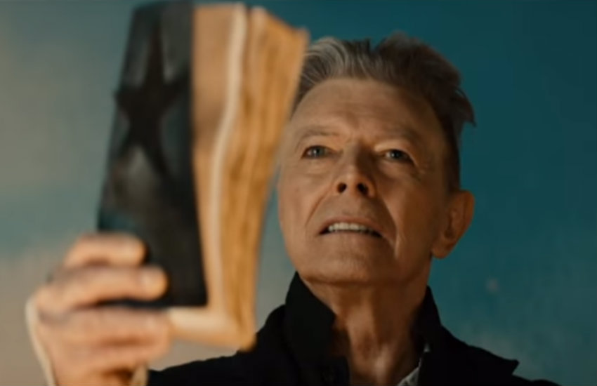 David Bowie in the documentary The Last Five Years.
